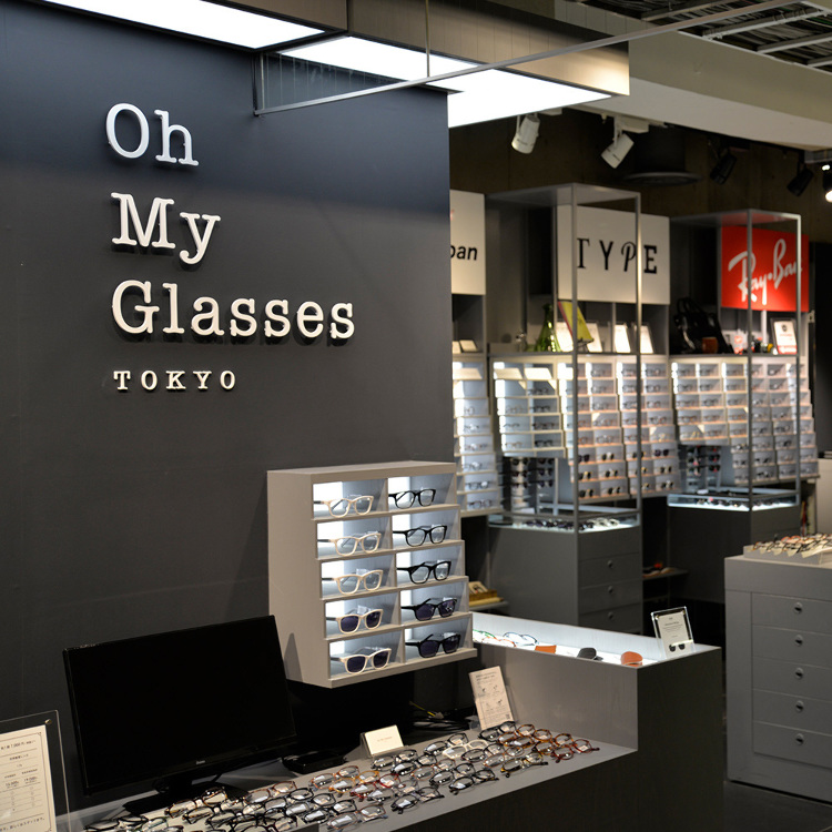Oh My Glasses TOKYO SHIBUYA LOFT STORE