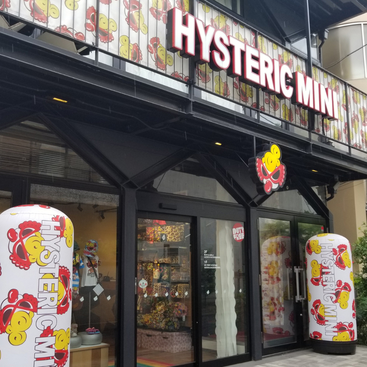 HYSTERIC MINI HARAJUKU HEAD SHOP