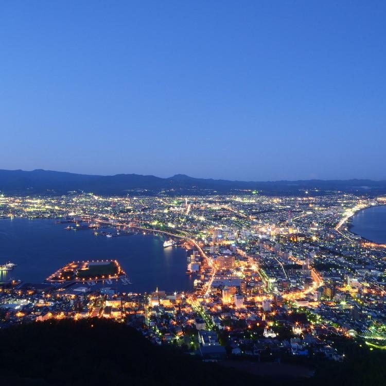 函館山山頂展望台