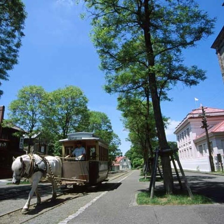 Village of Hokkaido reclamation