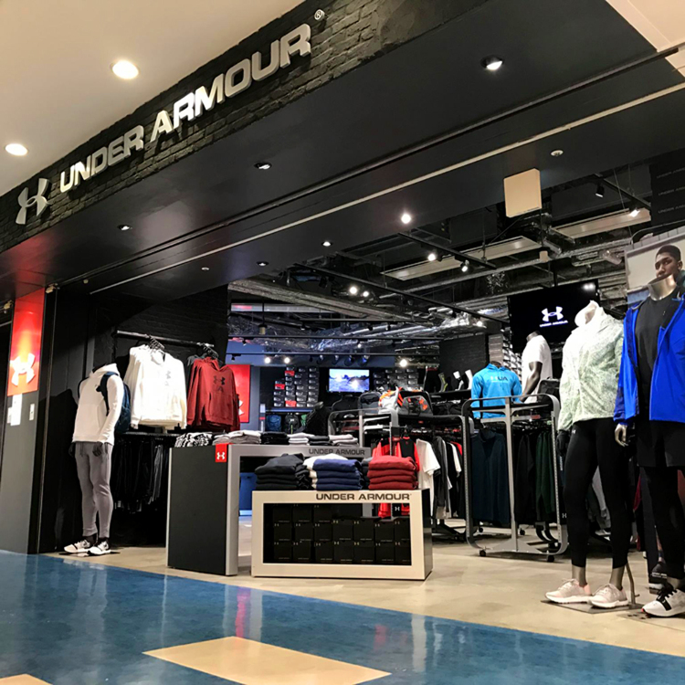 UNDER ARMOUR CLUBHOUSE Odaiba