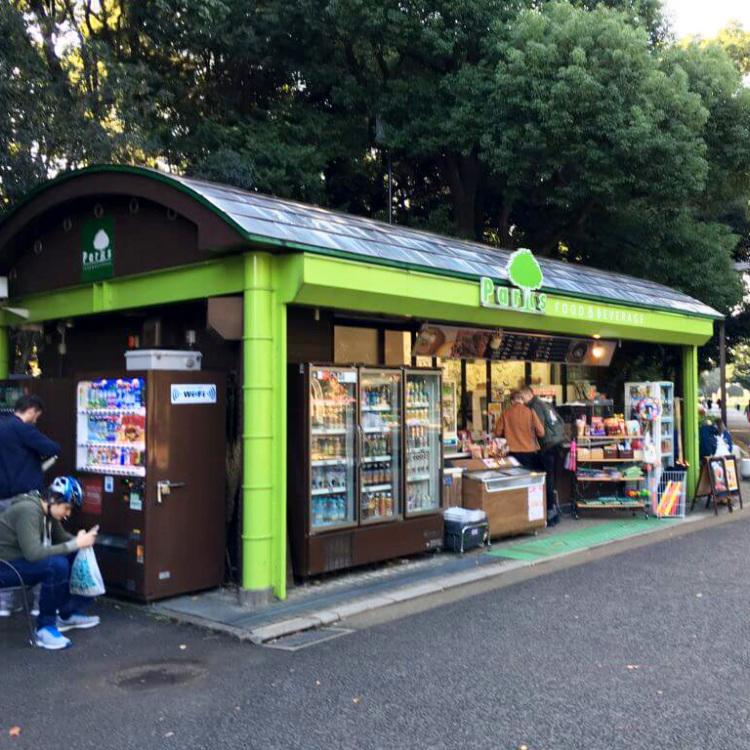 """Parks """"Yoyogi"""" Harajuku Gate Shop"""