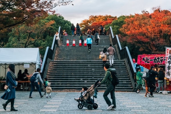 Observation Deck in Yoyogi Park